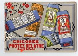 ZE-CHICOREE PROTEZ DELATTRE CAMBRAI---------Très RARE-------livret De 18 Pages Dont Page Centrale En 3 Volets - Gastronomie