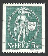 Sweden, 5 K. 1970, Sc # 755, Used