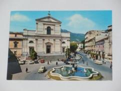 SALERNO - Cava Dei Tirreni - Cava De´ Tirreni - Piazza Duomo Con La Fontana - Auto - Cava De' Tirreni