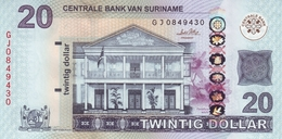 SURINAME 20 DOLLARS 2010 P-164a NEUF [SR547a] - Surinam