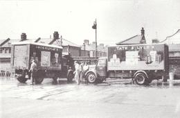 Postcard Bedford Delivery Box Van Tate & Lyle Silvertown London Lorry Billingham - Trucks, Vans &  Lorries