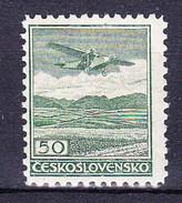 ** Tchécoslovaquie 1930 Mi 303 B (Yv PA 10), (MNH) Dentelé 12 1/4