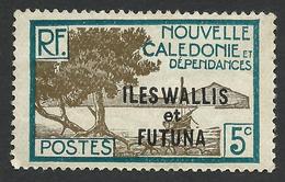Wallis And Futuna, 5 C. 1930, Sc # 47, MH - Unused Stamps