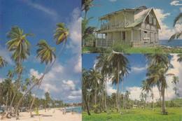 Cartolina - San Andres Islas,- Playa Principal -  Colombia - Colombia