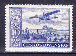 ** Tchécoslovaquie 1930 Mi 309 A (Yv PA 16), (MNH)