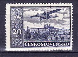 ** Tchécoslovaquie 1930 Mi 310 A (Yv PA 17), (MNH)