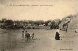 44 - LA BERNERIE-EN-RETZ - PLAGE - JEUX DE PLAGE - La Bernerie-en-Retz