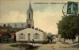 44 - LA BERNERIE-EN-RETZ - Carte Toilée - La Bernerie-en-Retz