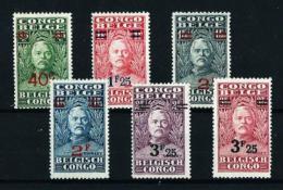 Congo Belga  Nº Yvert  162/7  En Nuevo*
