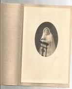 G-I-E , Photographie A. MERZ , Limoges , 15.5 X 24.5 , Communion , Communiante , 2 Scans ,  Frais Fr : 1.95 € - Personnes Anonymes