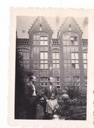 26116 Deux 2 Photo Liege Belgique En 1937 Palais De Justice  -Rennes 35 - Lieux