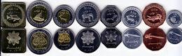 PEMBA 2013 Set Of 8 Coins UNC - Munten