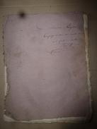 1818 Rare Thèse Du Docteur  Bordot Sur LE SEIGLE Ergoté (poudre Sacrificielle Des Sorcières), .(dédicace Manuscrite) - Non Classés