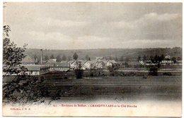 CPA 90 ( Territoire De Belfort ) -  Environs De BELFORT - GRANDVILLARS Et La Cité Blanche - Grandvillars