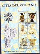 Vatikan - Kunst Des Vatikan In USA  (MiNr: Bl. 5) 1983 - Gest Used Obl - Blocks & Sheetlets & Panes