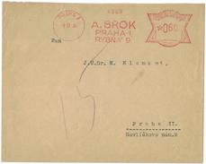 AZ249       FRANKOTYPE Freistempel Praha A.BROK 1934