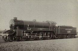 Railway Postcard SR King Arthur 449 Sir Torre Southern N15 4-6-0 Loco - Trains