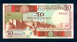 Banconota Somalia 50 Shillings 1987 FDS - Somalia