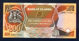 Banconota Uganda 200 Shillings 1987 FDS - Uganda