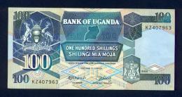Banconota Uganda 100 Shillings 1988 FDS - Uganda