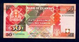 Banconota Uganda 50 Shillings 1987 FDS - Uganda