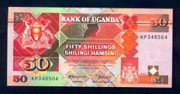 Banconota Uganda 50 Shillings 1989 FDS - Uganda