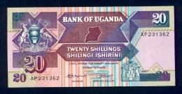 Banconota Uganda 20 Shillings 1987 FDS - Uganda