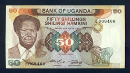 Banconota Uganda 50 Shillings 1985 FDS - Uganda