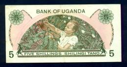 Banconota Uganda 5 Shillings 1982 - Uganda