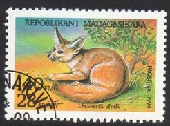 Fennec Fox Fennecus Zerda Used Stamp - Stamps