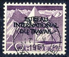 Svizzera BIT 1950 N. 326 C. 70 Violetto Usato Cat. € 28 - Servizio
