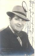 FAUSTINO ARREGUI CANTANTE Y DIRECTOR DE ZARZUELAS CELEBRE GENERO CHICO ESPAÑOL NACIDO EN SAN SEBASTIAN AUTOGRAFO SOBRE P - Autographes