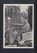 Dt. Reich AK Adolf Hitler Vorbeimarsch 1938 Nürnberg - Historical Famous People