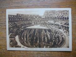 Italie , Roma , Anfitéatro Flavio O Colosseo Coi Nuovi Scavi