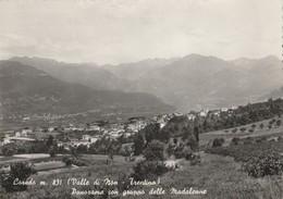 10903) COREDO VAL DI NON PANORAMA COL GRUPPO DELLE MADALENNE NON VIAGGIATA 1956 CIRCA