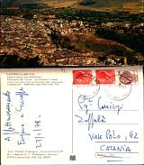 5752a)cartolina-  Castro Villari-veduta Aerea Lato Sud Ovest Ediz Perfetti Francesco