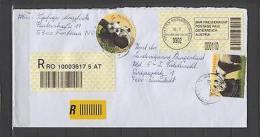 Austria AF78 Cover Registered 2004 Amstetten - Austria