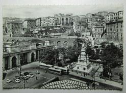 Genova Piazza Acquaverde E Monumento A Cristoforo Colombo – Filobus Auto Animata – Vg 1960
