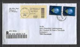 Austria AJ38 Cover Registered 2002 Zeltweg - Austria