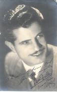 FLORENTINO DELBENE NOMBRE ARTISTICO FLOREN DELBENE AUTOGRAFO SOBRE FOTO WILENSKI BUENOS AIRES AÑO 1938 - Autogramme & Autographen