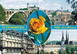 1 AK Luxemburg * Luxembourg Ville Des Roses - Pont Adolphe, Ville Haute, Palais Grand-Ducal, Cathédrale * - Luxemburg - Stadt