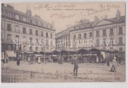 CPA NANTES 44 PLACE ET MARCHE DU BOUFFAY - Nantes