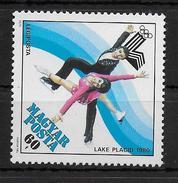 HONGRIE   PA 423  * *     JO 1980  Patinage