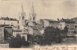 07.- LA LOUVESC. Carte Pionnière. Hôtel Costet - Hotels & Restaurants