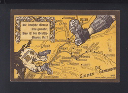 Dt. Reich PK 1915 Tirol Er Volksbund - Satirische