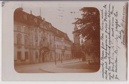 ERFURT : CARTE PHOTO ECRITE EN 1913 - BLICK AUF DIE WIGBERTIKIRCHE - RARE - 2 SCANS - - Erfurt