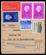 The Netherlands EXPRESS Dispatch Form 1979 - Period 1949-1980 (Juliana)