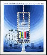DDR - Michel Block 30 = 1511 - OO Gestempelt (A) - 20 Jahre DDR III