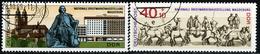 DDR - Michel 1513 / 1514 - OO Gestempelt (A) - Briefmarkenausstellung Magdeburg