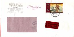DDR Express Letter ... AX309 - [6] Repubblica Democratica